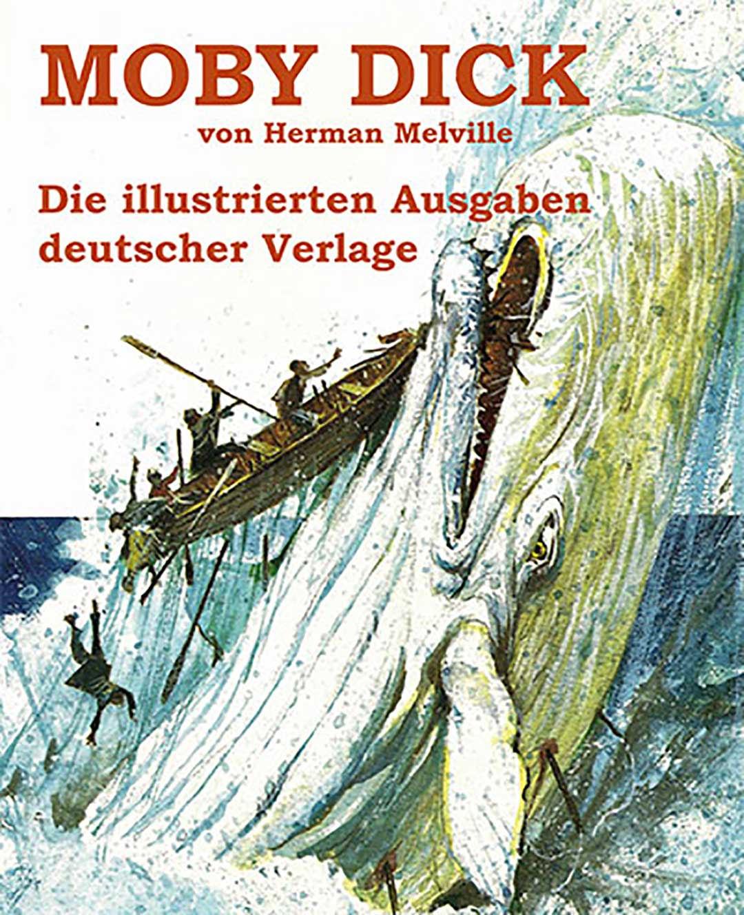 Herman melville and moby dick stamps — 5