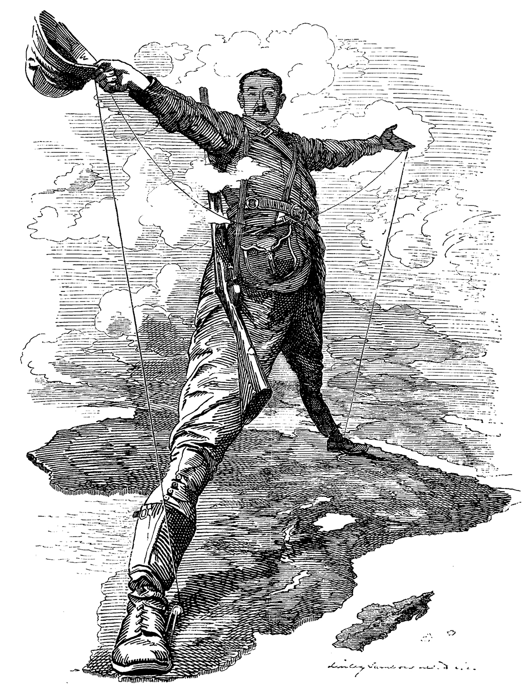 Wikipedia: Edward Linley Sambourne (1844–1910) - Punch and Exploring History 1400-1900: An anthology of primary sources, p. 401 by Rachel C. Gibbons